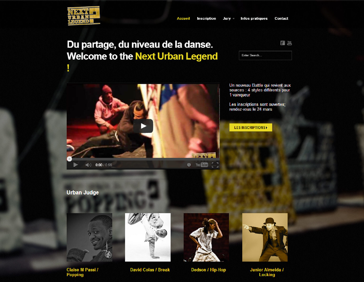 Projet web Next urban legend